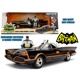 BATMAN TV SERIES 1966 BATMOBILE DIE CAST 1/24 MODEL JADA TOYS