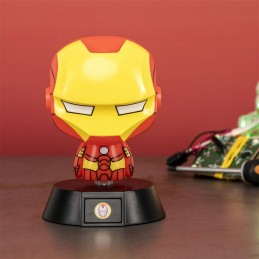 MARVEL IRON MAN 3D ICON LIGHT LAMPADA PALADONE PRODUCTS