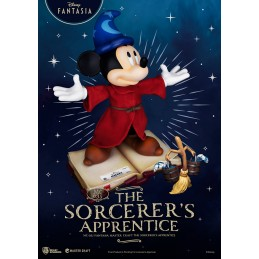 DISNEY FANTASIA THE SORCERER'S APPRENTICE STATUA 38CM MASTERCRAFT FIGURE BEAST KINGDOM