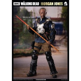 THREEZERO THE WALKING DEAD MORGAN JONES ACTION FIGURE