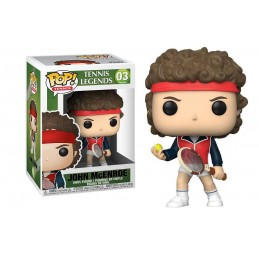 FUNKO POP! TENNIS JOHN MCENROE BOBBLE HEAD KNOCKER FIGURE FUNKO