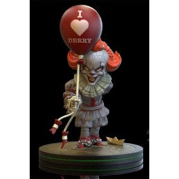 QUANTUM MECHANIX IT CHAPTER TWO PENNYWISE Q-FIG DIORAMA 15 CM STATUE FIGURE