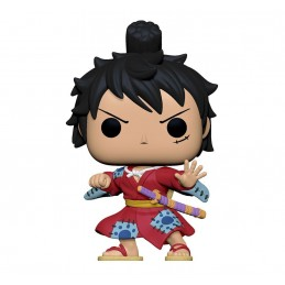 FUNKO FUNKO POP! ONE PIECE MONKEY D. LUFFY IN KIMONO BOBBLE HEAD FIGURE