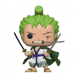 FUNKO FUNKO POP! ONE PIECE RORONOA ZORO IN KIMONO BOBBLE HEAD FIGURE