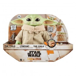 THE MANDALORIAN THE CHILD BABY YODA ELECTRONIC PUPAZZO PELUCHE 28CM PLUSH FIGURE MATTEL
