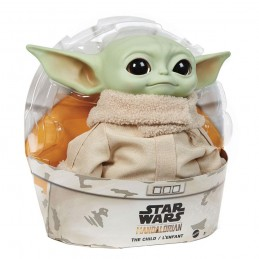 THE MANDALORIAN THE CHILD BABY YODA PUPAZZO PELUCHE 28CM PLUSH FIGURE MATTEL