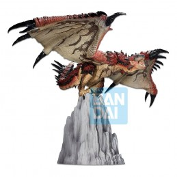 BANDAI MONSTER HUNTER ICHIBANSHO RATHALOS STATUE FIGURE
