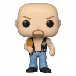 FUNKO FUNKO POP! WWE STONE COLD STEVE AUSTIN BOBBLE HEAD FIGURE