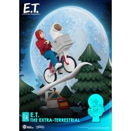 D-STAGE E.T. THE EXTRA-TERRESTRIAL STATUA FIGURE DIORAMA BEAST KINGDOM