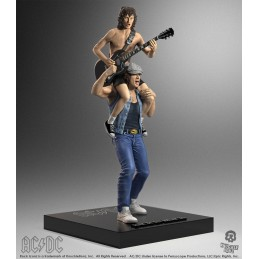 ROCK ICONZ AC/DC ANGUS AND BRIAN STATUA FIGURE KNUCKLEBONZ
