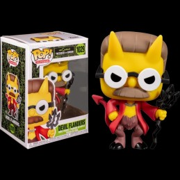 FUNKO FUNKO POP! THE SIMPSONS DEVIL FLANDERS BOBBLE HEAD FIGURE