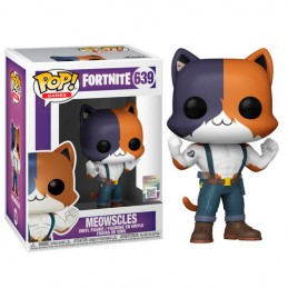 FUNKO FUNKO POP! FORTNITE MEOWSCLES BOBBLE HEAD KNOCKER FIGURE