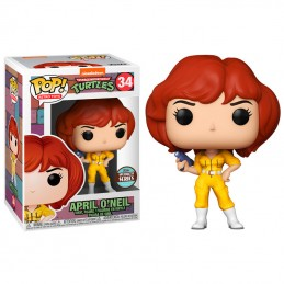 FUNKO FUNKO POP! TMNT APRIL O'NEIL BOBBLE HEAD KNOCKER FIGURE