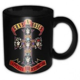 GUNS N' ROSES APPETITE FOR DESTRUCTION MUG TAZZA IN CERAMICA PYRAMID INTERNATIONAL
