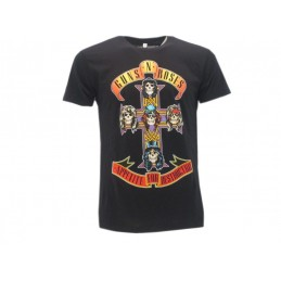 MAGLIA T SHIRT GUNS N' ROSES APPETITE FOR DESTRUCTION