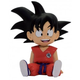 DRAGONBALL DRAGON BALL BUST BANK SON GOKU SALVADANAIO PLASTOY