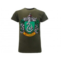 MAGLIA T SHIRT HARRY POTTER SLYTHERIN SERPEVERDE