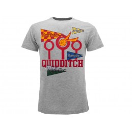 MAGLIA T SHIRT HARRY POTTER QUIDDITCH