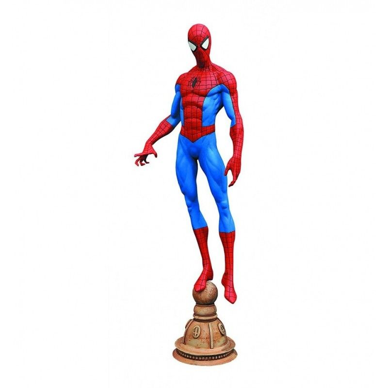 "MARVEL GALLERY - SPIDERMAN 9"" PVC FIGURE STATUE DIAMOND SELECT"
