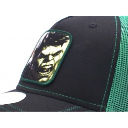 CAPPELLO BASEBALL CAP MARVEL HULK BLACK GREEN