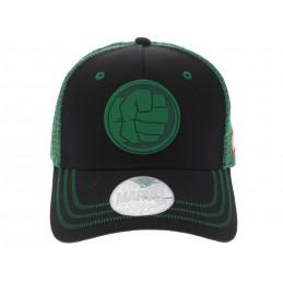 CAPPELLO BASEBALL CAP MARVEL HULK FIST BLACK GREEN