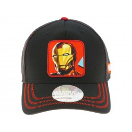 CAPPELLO BASEBALL CAP MARVEL IRON MAN FACE
