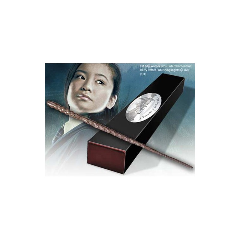HARRY POTTER WAND CHO CHANG REPLICA BACCHETTA NOBLE COLLECTIONS