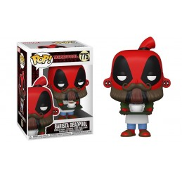 FUNKO FUNKO POP! BARISTA DEADPOOL BOBBLE HEAD FIGURE