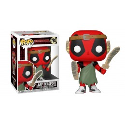 FUNKO FUNKO POP! LARP DEADPOOL BOBBLE HEAD FIGURE
