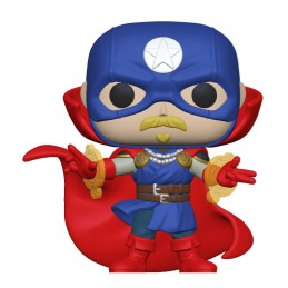 FUNKO FUNKO POP! MARVEL INFINITY WARPS SOLDIER SUPREME BOBBLE HEAD FIGURE