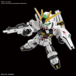 SD GUNDAM RX-93 NU GUNDAM MODEL KIT FIGURE BANDAI