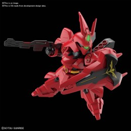 BANDAI SD GUNDAM MSN-04 SAZABI MODEL KIT FIGURE