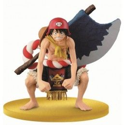 ONE PIECE FILM GOLD SCULTURES BIG ZOUKEIO - LUFFY FIGURE STATUE BANPRESTO