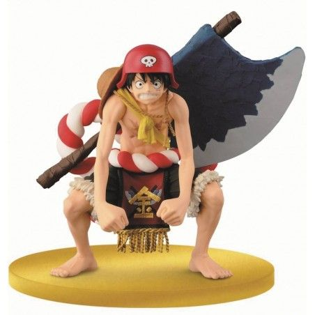 ONE PIECE FILM GOLD SCULTURES BIG ZOUKEIO - LUFFY FIGURE STATUE