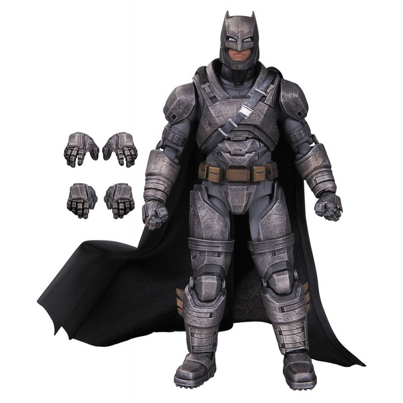 DC COMICS FILMS - BATMAN V SUPERMAN ARMORED BATMAN ACTION FIGURE DC COLLECTIBLES