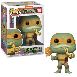 FUNKO POP! TMNT MICHELANGELO BOBBLE HEAD KNOCKER FIGURE FUNKO