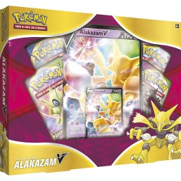 POKEMON COLLEZIONE ALAKAZAM-V BOX IN ITALIANO THE POKEMON COMPANY INTERNATIONAL