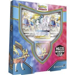 POKEMON MAZZO LOTTE DI LEGA ZACIAN-V IN ITALIANO THE POKEMON COMPANY INTERNATIONAL
