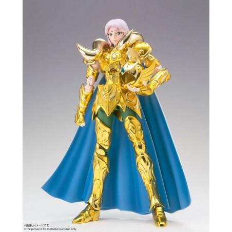 SAINT SEIYA MYTH CLOTH EX ARIES MU REVIVAL EDITION GOLD CLOTH ACTION FIGURE