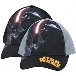 CAPPELLO BASEBALL CAP STAR WARS CARTOON DARTH VADER LASER GREY