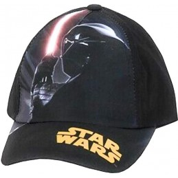 CAPPELLO BASEBALL CAP STAR WARS CARTOON DARTH VADER LASER BLACK