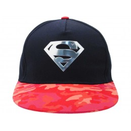 CAPPELLO BASEBALL CAP SUPERMAN LOGO METAL
