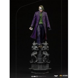 THE DARK KNIGHT JOKER 1/10 ART SCALE STATUE FIGURE IRON STUDIOS