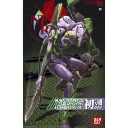 EVANGELION EVA 01 TEST TYPE NEW MOVIE VERSION MODEL KIT ACTION FIGURE