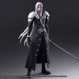 FINAL FANTASY 7 REMAKE SEPHIROTH 28CM PLAY ARTS KAI ACTION FIGURE SQUARE ENIX
