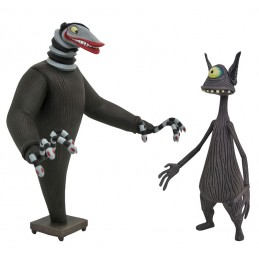 NIGHTMARE BEFORE CHRISTMAS CREATURE UNDER THE STAIRS 2-PACK ACTION FIGURE DIAMOND SELECT