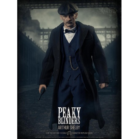 PEAKY BLINDERS ARTHUR SHELBY ACTION FIGURE