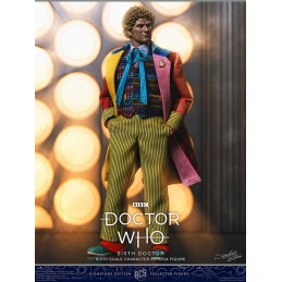 DOCTOR WHO SIXTH DOCTOR 30CM ACTION FIGURE BIG CHIEF