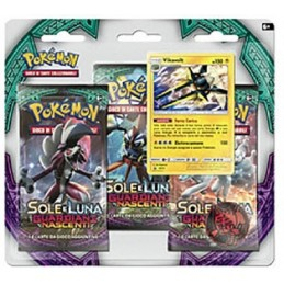 POKEMON SOLE E LUNA GUARDIANI NASCENTI VIKAVOLT SET BLISTER IN ITALIANO THE POKEMON COMPANY INTERNATIONAL