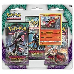 POKEMON SOLE E LUNA GUARDIANI NASCENTI TURTONATOR SET BLISTER IN ITALIANO THE POKEMON COMPANY INTERNATIONAL